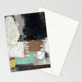 Another Vice Mixed Media Abstract Collage Art Stationery Cards