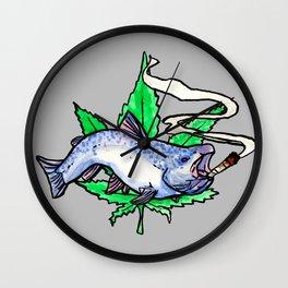 smoked salmon Wall Clock