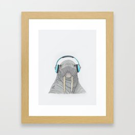 The better to Hear You / Para Oírte Mejor Framed Art Print