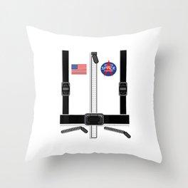 Astronaut Costume for Kids Men Women Space Suit T-Shirt Throw Pillow