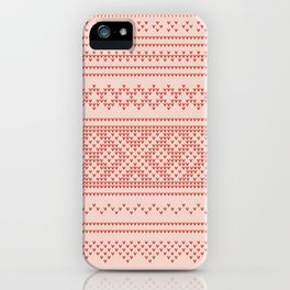 Northern Knit iPhone Case