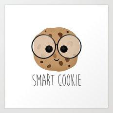 Smart Cookie Art Print