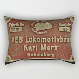 VEB Lokomotivbau Karl Marx, Babelsberg Rectangular Pillow