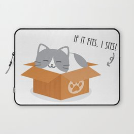 If It Fits, I Sits! Laptop Sleeve