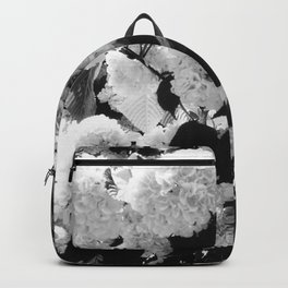 Black and White Snowballs Backpack