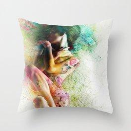 Self-Loving Embrace Throw Pillow