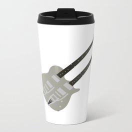 Gretsch Doubleneck ( G5566 ) Metal Travel Mug