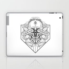 Courage Is What You Need Laptop & iPad Skin