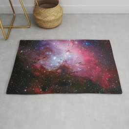 Eagle (Queen Star) Nebula Messier 16 NGC 6611 Rug