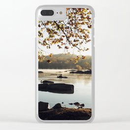 Sunrise on the Potomac Clear iPhone Case