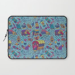 Caravan Pattern Laptop Sleeve