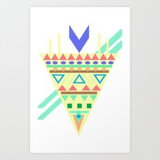 Triangle Affiniti Art Print