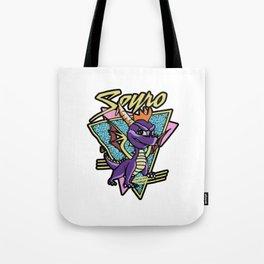 Spyro The Dragon unleash Retro Tote Bag