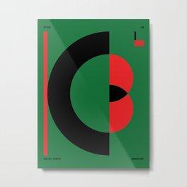 Kabul — City Series Metal Print