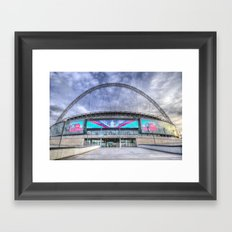 Wembley Stadium London Framed Art Print