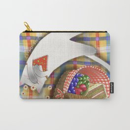Cat Going for a Picnic series 1 Carry-All Pouch