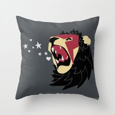 Lionidas Throw Pillow