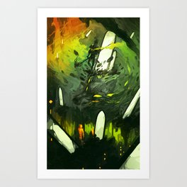 Where All Started Where All Ends Art Print