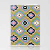 kilim Stationery Cards featuring Modern Kilim by Alisse Courter