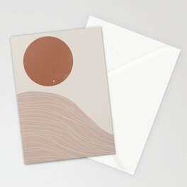 Wilde West, Abstract Landscape Stationery Cards
