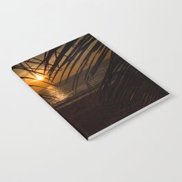 Sunset on the sea Notebook