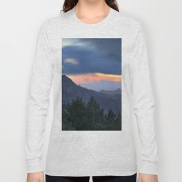 Dream sunset. At the mountains... Long Sleeve T-shirt