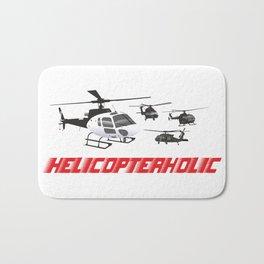 Professional Helicopter Pilot Bath Mat