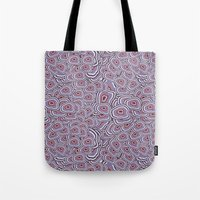 agate Tote Bags featuring agate  by kociara