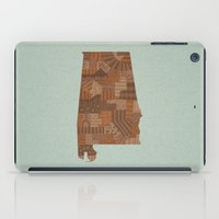 alabama iPad Cases featuring Alabama by MattBlanksArt