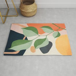 Colorful Branching Out 24 Rug