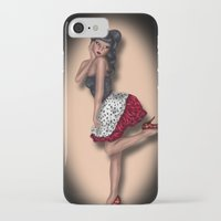 minnie iPhone & iPod Cases featuring Minnie by Hayley Blythe Art