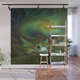 Mysterious, Abstract Fractals Art Wall Mural