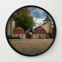 View to the entrance Wall Clock