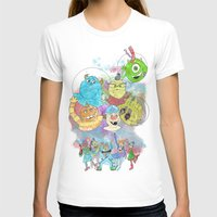 pixar T-shirts featuring Disney Pixar Play Parade - Monsters Inc Unit by Joey Noble