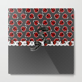 Cool Ladybugs Metal Print