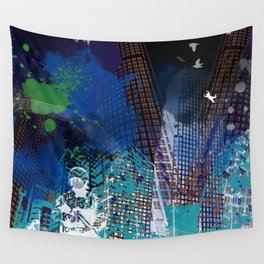 A tale of two cities 2 Wall Tapestry