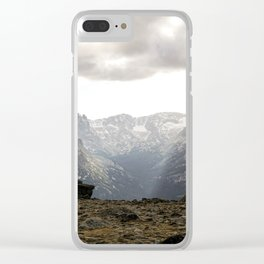 Sunset on Trail Ridge 2 Clear iPhone Case