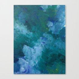 Ultramarine Mood Study: Swoon Canvas Print