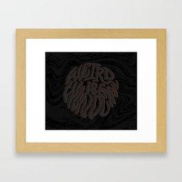 Weird Is Wonderful Framed Art Print