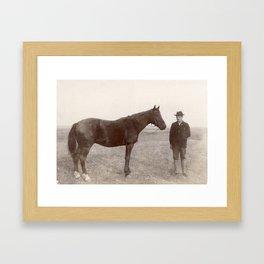 Circa 1900, Bismark, North Dakota Framed Art Print