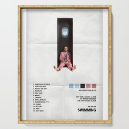 Mac Miller - Swimming Album Cover, Poster Print Wall Art A3, Custom Poster, Home Serving Tray