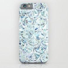 Ice and Diamonds Art Deco Pattern iPhone 6s Slim Case