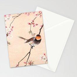 Peach Tree Robin Stationery Cards