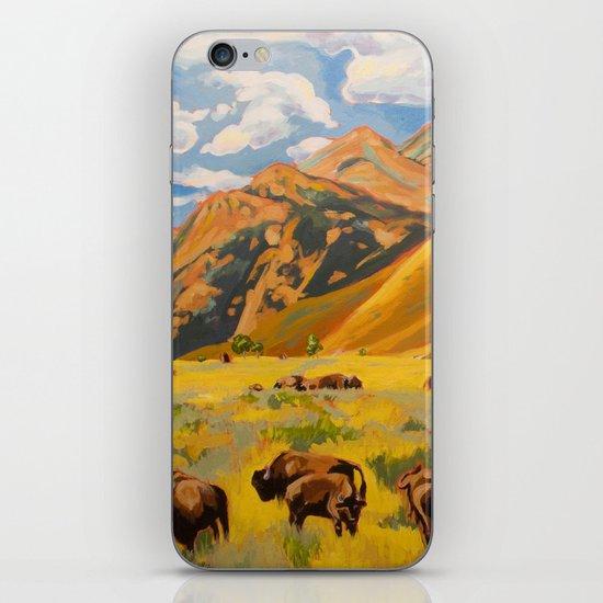Susan's Bison iPhone & iPod Skin