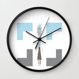 Sanchez Institute of Science Wall Clock