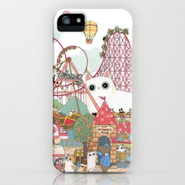 the Day of the rollercoaster iPhone Case