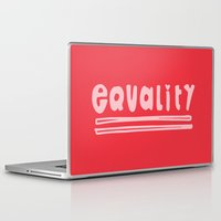 equality Laptop & iPad Skins featuring Equality by MaJoBV
