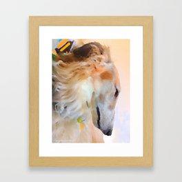 Tatyana's Profile Framed Art Print
