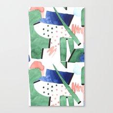 Bubblegum garden Canvas Print