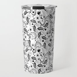 Avantgarde Floral Travel Mug